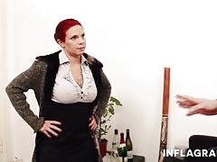 Cheating German Redhead