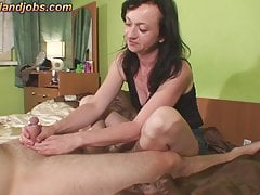 Maya jerking with 2 cumshots's Thumb