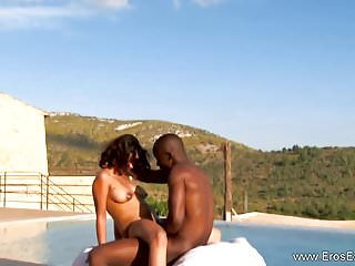 Preview 5 of Ebony Couple Experiences Freedom To Fuck