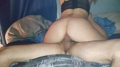 Riding out friends big cock