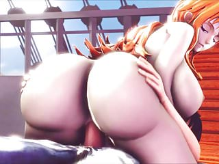 One Piece - Big Ass Nami (3D Hentai)