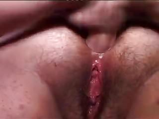 Granny anal bang in her big old hairy ass