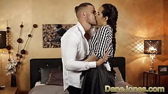 Dane Jones Huge cock spreads Monica Browns tight pussy