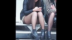 Candid Teens in Nylon Pantyhose they will drive you crazy...