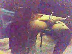 Voyeur Spy BBW open legs Masterbating10001