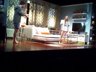Amanda Seyfried topless on stage