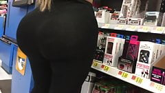 Phat Ass in line at Walmart
