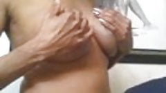 guy sucking big tits shemale very nice