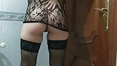 Spanish milf movement in my body wastes sensuality