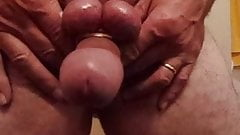 Big balls on top - curved dick jack drop & bounce around