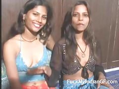 Horny Young Indian College Teen Performing Lesbian Action