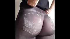 Spandex Jeggings Ass