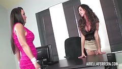 Ariella Interviews Lisa Ann for Secretary