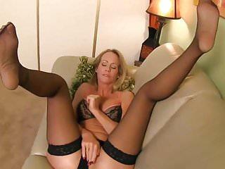 Hot MILF Lady Simone In Stockings Joi #MrBrain1988