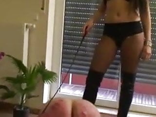 Harsh whipping of slave