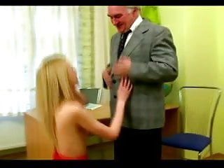 Old Man Fuck Skinny Teen Violetta