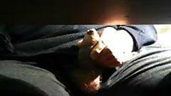 Watching dad masturbate under the desk