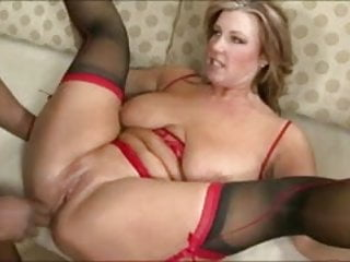 Amateur in sexy lingerie having sex with her boyfriend