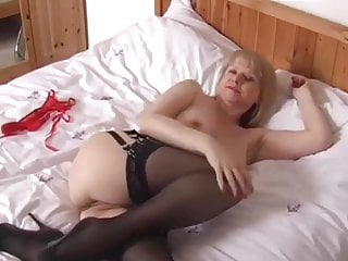 Sexy Milf Amanda Degas plays with herself