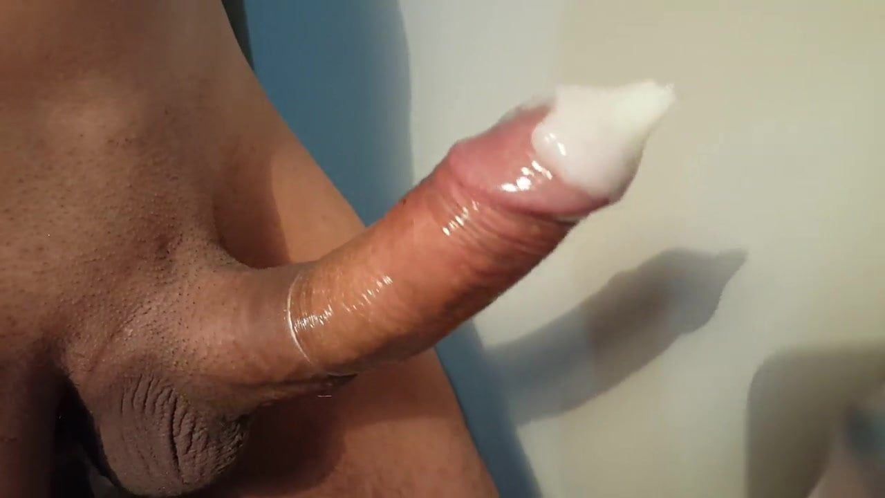Jerking off a big one