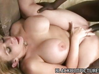 Sara Jay - Busty White Milf Drilled By A Huge Black Cock