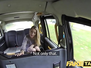 Fake Taxi New driver fucks hot blonde passengers wet pussy