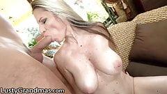 LustyGrandmas Mature Conchita Big Tits & Pussy Fucked