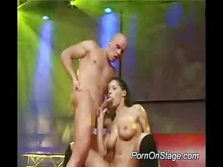 Stripper gets fucked hard sex and does blowjob for cum