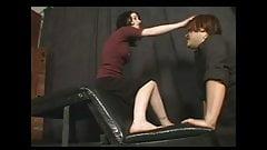 A nice foot domination scene