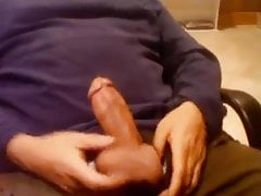 Wife doesn't get to play my fat cock the way I do 2