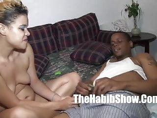 Pornstar Nutso 14 inc dick breaks her lil redboned pussy