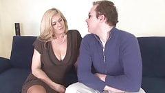 mature blonde salope baise anal