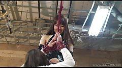 Japanese Femdom Emiru BDSM Strapon Fucking