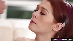 Alice Green tigh Teen anus gets rammed's Thumb