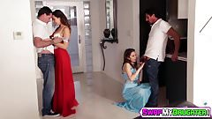 Riley Reid suffering a rough pounding