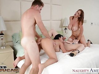 Cougars Charlee Chase Holly Halston And Sara Jay Fucking