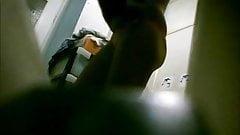 Hidden cam - Caught in bathroom