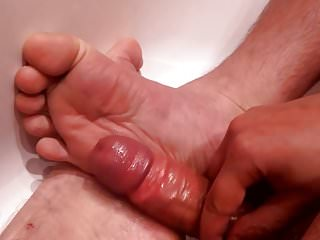 Preview 1 of cum on my soles again