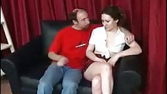 Old guy have sex with young girl - Part 3