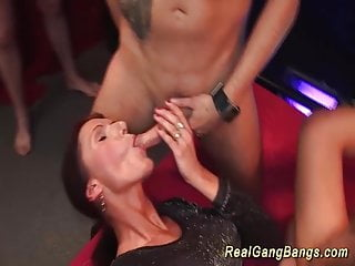 Preview 3 of horny german gangbang party chicks