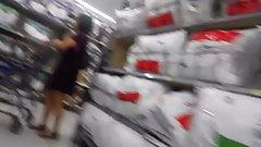 Flexed her ass upskirt's Thumb