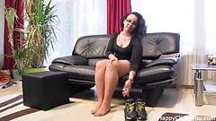 Nylon footplay by Gina