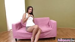 Twistys - Eve Angel starring at The Pink Couch Knows No Boun