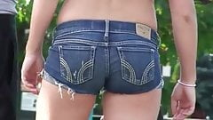Candid Jean Shorts