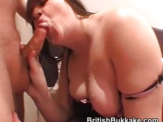 Housewives have fun draining cum out of cocks