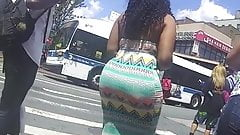 Super Dominican Candid Phat Booty in Dress!