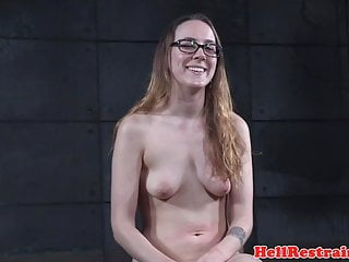 Bigtitted slave canned and groped by master