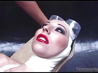 German latex sex - Harmony vision latex lesbians in anal fetish