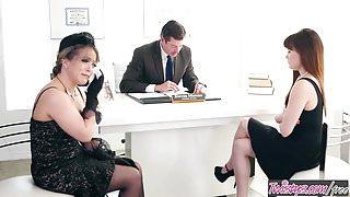 Twistys - Reading up the will - Carmen Valentina,Alison Rey