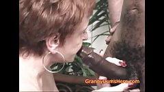 This GRANNY loves DICKS